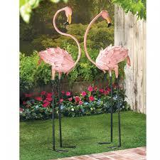 garden flamingos. Pink Flamingos - Yard Decorations In Pairs Garden T