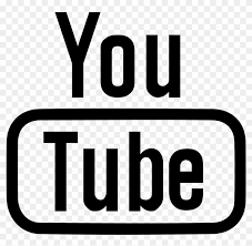 Youtube Clipart Youtube Clipart Black And White Youtube Icon Outline Png