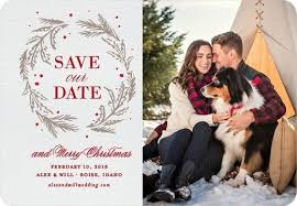 Winter Wedding Save The Date Stunning Winter Save The Dates Mywedding