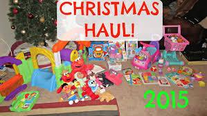 TODDLER CHRISTMAS HAUL 2015! - YouTube