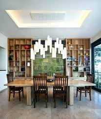 long dining room chandeliers chandelier stunning modern chandeliers for dining room foyer long with bamboo contemporary