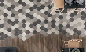 are hexagonal floor and wall tiles for you