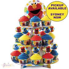 Sesame Street Party Supplies Wilton Elmo Cake Cupcake Stand Treat