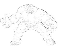 Incredible Hulk Coloring Pages Page Printable Buster P The Red