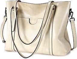 S-ZONE Women Genuine Leather Top Handle ... - Amazon.com