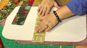 Quilting Quickly: Christmas Gathering - Holiday Quilt-As-You-Go ... & Quilting Quickly: Christmas Gathering - Holiday Quilt-As-You-Go Placemats -  YouTube Adamdwight.com