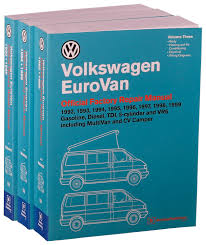 volkswagen eurovan official factory repair manual 1992 1993 volkswagen eurovan official factory repair manual 1992 1993 1994 1995 1996 1997 1998 1999 gasoline diesel tdi 5 cylinder and vr6 includin