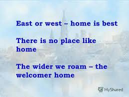 home sweet home essay writing