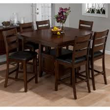 interior pretty bar height kitchen table sets 24 shocking jofran taylor cherry piece counter dining set