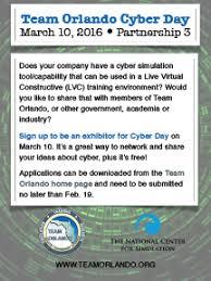 Hacé clic y conocé las tiendas. Team Orlando Ncs Plan Cyber Day In March Team Orlando News