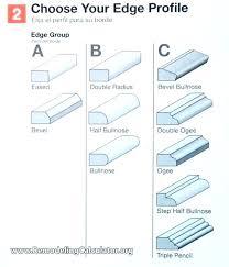 laminate countertop edging options edging options edge options laminate kitchen edging style laminate edge types