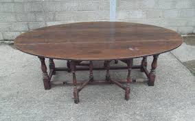 fancy large drop leaf table 10 gorgeous oval dining antique furniture warehouse 17th century oak