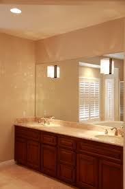 cute bathroom mirror lighting ideas bathroom. Living Cute Bathroom Double Vanity Lighting 21 Brown Wooden Having Round White Sink And Marble Top Mirror Ideas I