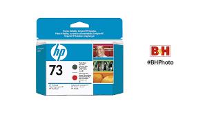 <b>HP 73</b> Matte Black & <b>Chromatic</b> Red Printhead CD949A B&H Photo