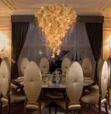 statement lighting. Sparkle All Year: Pleat Light By Sharon Marston At Radlett House, Private Residence: Statement Lighting A