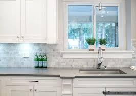 grey tile backsplash with white cabinets marble subway idea com home improvement marvelous gray cabinet kit