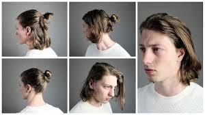 5 Easy Medium And Long Hairstyles Mens Hair 2017 Youtube