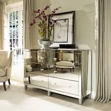 Mirrored Bedroom Furniture Square Shape Wall Mirror With White