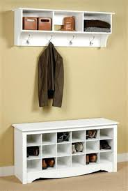 Cubby Bench And Coat Rack Set Enchanting Shoe Bench With Coat Rack Coat Rack Shoe Storage Bench Best Hallway