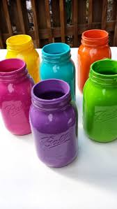 Decorating Mason Jars Best 10 Painted Mason Jars Ideas On Pinterest Painted Jars