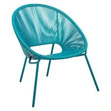 colourful garden furniture for