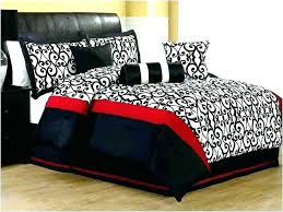 Silver Comforter Set Red Black And Gold Sets Bedding Gray Bed White ...