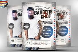 barber flyer barber shop flyer template barbershop flyer templates dni america