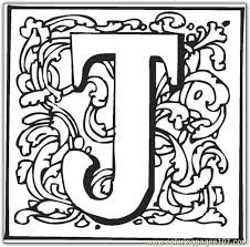 Small Picture J Coloring Page Free Alphabets Coloring Pages ColoringPages101com