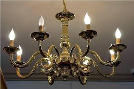 brass chandeliers outdated best vintage images on