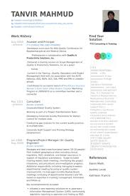 Founder And Principal Resume Samples Visualcv Resume Samples Database