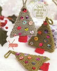 super easy knit ornaments! Must do these with Arrow next year, would make  lovely
