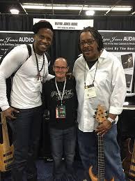 Julian Vaughn, Wayne Jones and James Cleaver - NAMM 2016 - Wayne Jones -  Bass Player