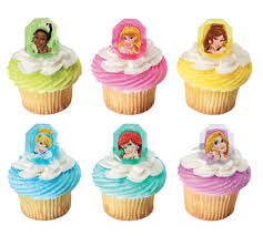 Disney Princess Cupcake Topper Rings Just For Kids