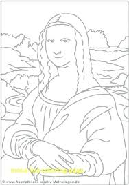Mona Lisa Coloring Page Pdf Bltidm