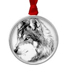 gray wolf face drawing. Modren Drawing Wolf Face Majestic Gazes Into The Distance Metal Ornament In Gray Face Drawing