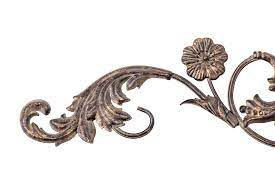 Add elegance to walls and art work with this allegro metal scroll wall decor. Imax Worldwide Home