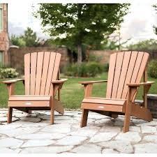 lifetime adirondack chair plastic wood effect pack of 2 plastic wood adirondack chairs plastic vs wood