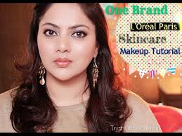 one brand l oreal paris skincare makeup tutorial trystwithvanilla