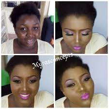 black women before and after makeup pops of fashion fashionpoliceng