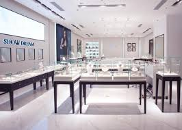OEM Showroom Display Cases Fashion Jewellery Shop Interior Design Extraordinary Jewelry Store Interior Design Plans