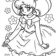 Manga Coloring Pages Hellokidscom