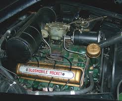 muscle car history 1949 rocket 88 engine