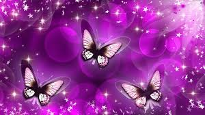 Pink And Purple Wallpaper For A Bedroom Purple Butterfly Background Purple Blue Kd1706 Butterfly