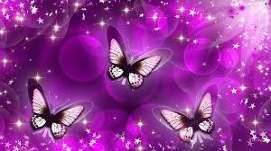 Purple Wallpaper For Bedrooms Purple Butterfly Background Purple Blue Kd1706 Butterfly