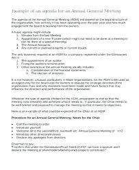 Notice Of Shareholders Meeting Template Annual Sample Board