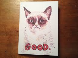 grumpy cat i had a birthday once. Contemporary Grumpy Grumpy Cat I Had A Birthday Once Cat Good Hand Drawn Intended P