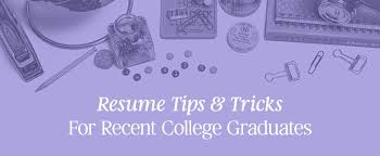 College Graduates Resume Resume Tips Tricks For Recent College Graduates Creative Market Blog