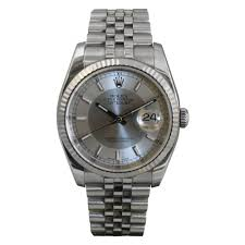 pre owned rolex mens stainless steel datejust watch pre owned pre owned rolex mens stainless steel datejust watch