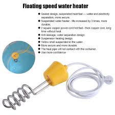 220v 2500 3000w floating sd water heater immersion heat for bath tub pool eb