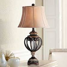 Table lamps lighting Silver Traditional Glass And Crystal Table Lamps Lamps Plus Table Lamps For Bedroom Living Room And More Lamps Plus